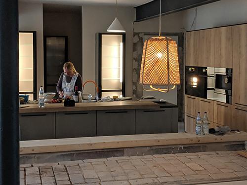 Die fertige Küche nach dem Umbau mit Innendämmung UdiReco von UdiDämmsysteme