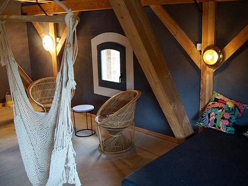 Fertige Schlafkojen im Obergeschoss nach dem Umbau mit Innendämmung UdiReco von UdiDämmsysteme