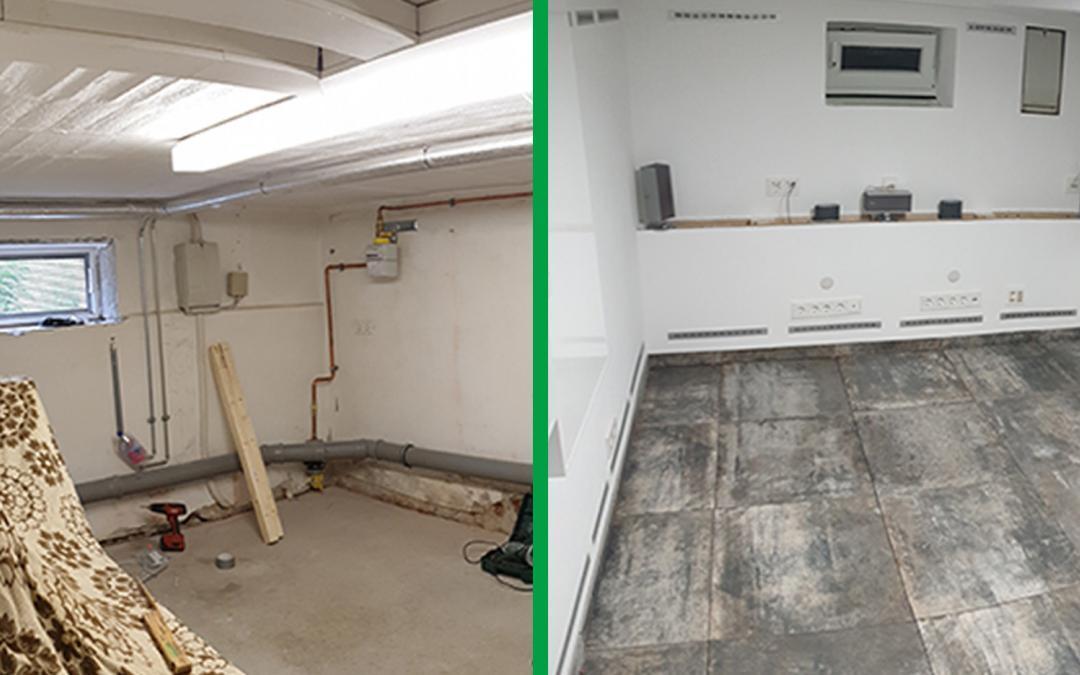 Kellerraum wird Homeoffice: Sanierung mit UdiSUN und UdiCLIMATE
